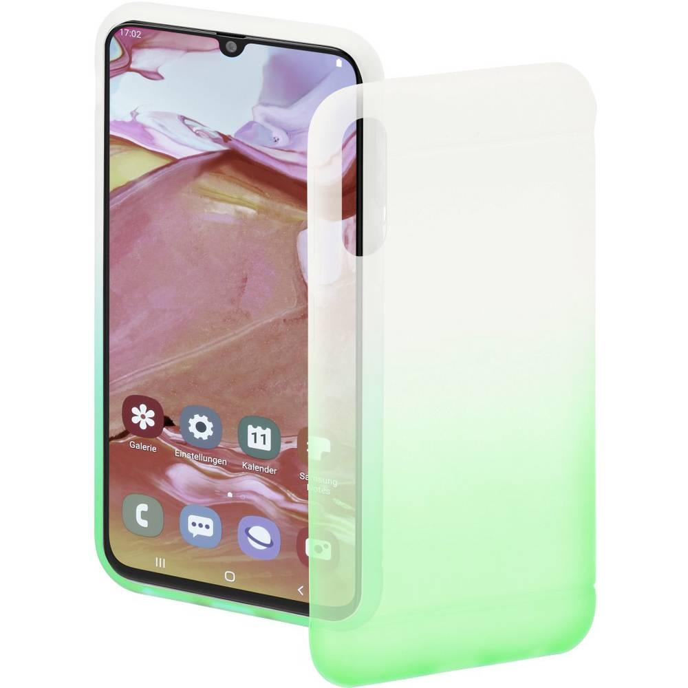 Hama Cover Colorful zadní kryt na mobil Samsung Galaxy A70 zelená (transparentní)