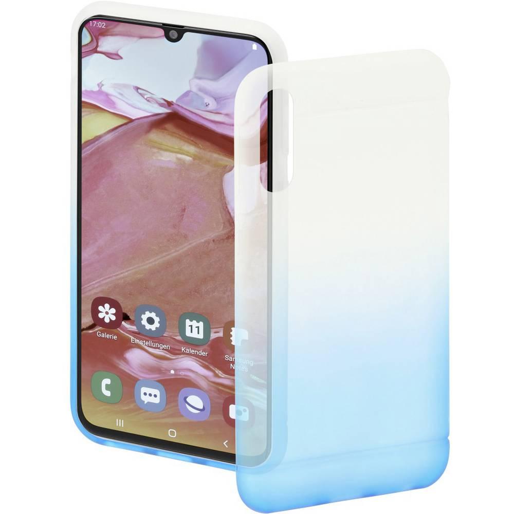 Hama Cover Colorful zadní kryt na mobil Samsung Galaxy A70 modrá (transparentní)
