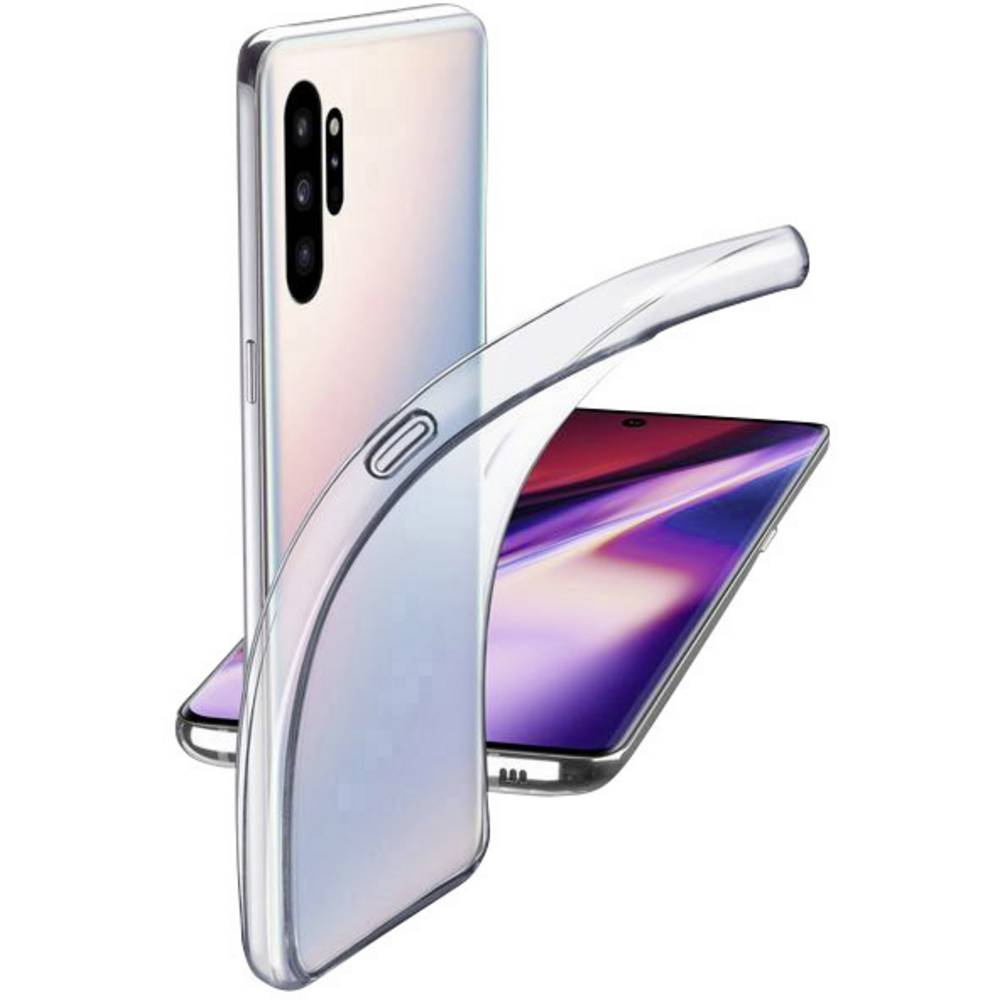 Cellularline Fine TPU zadní kryt na mobil Samsung Galaxy Note 10 Plus transparentní