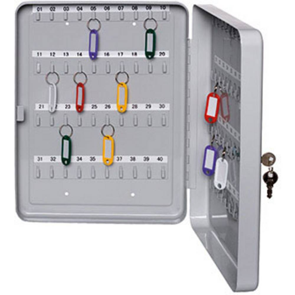 ALCO schránka na klíče 893 Počet háčků 80 světle zelená