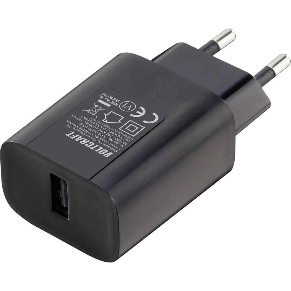 VOLTCRAFT SPS-1000 USB VC-10904490 USB nabíječka do zásuvky (230 V) Výstupní proud (max.) 1000 mA 1 x USB