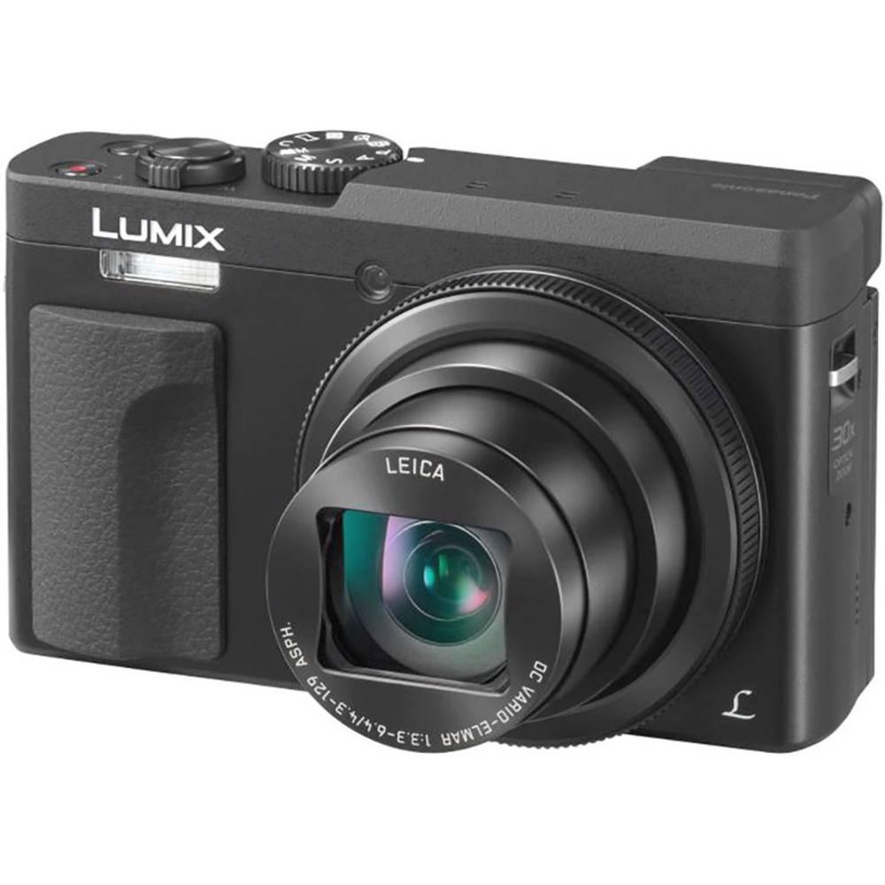 Panasonic DC-TZ91EG-K digitální fotoaparát 20 MPix Zoom (optický): 30 x černá 4K video, elektronický hledáček, vyklápěcí displej, Wi-Fi
