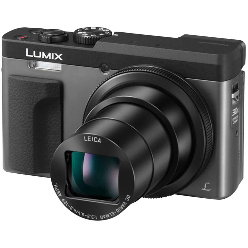Panasonic DC-TZ91EG-S digitální fotoaparát 20 MPix Zoom (optický): 30 x stříbrná 4K video, elektronický hledáček, vyklápěcí displej, Wi-Fi