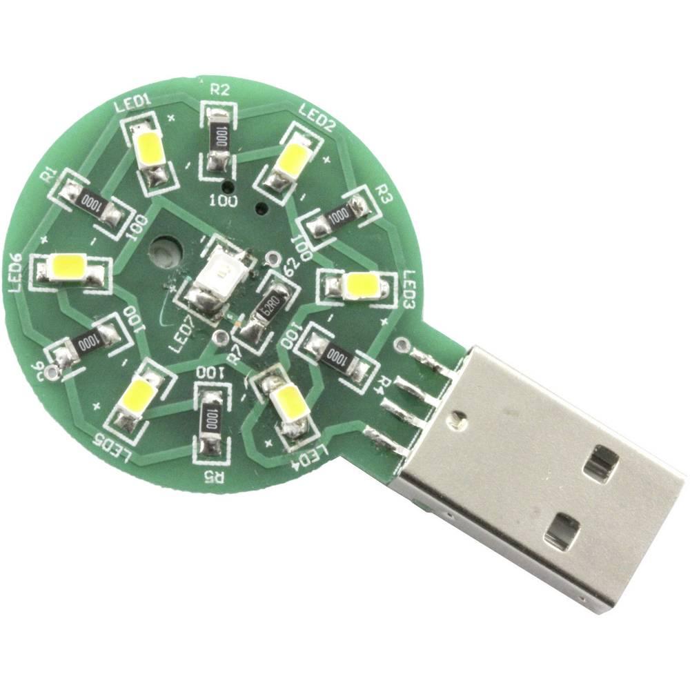 Sol Expert 77450 SMD stavebnice pro pájení, USB kapesní svítilna