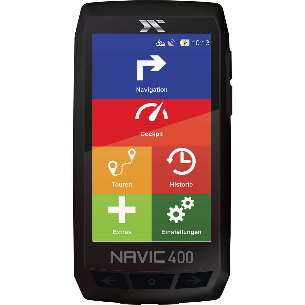 CicloSport Navic400 navigace na kolo turistika, kolo Evropa Bluetooth® , GPS , vč. topografických map, chráněné proti stříkající vodě