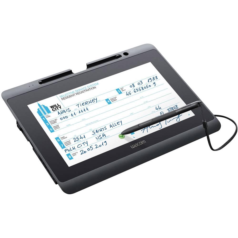 Wacom DTH-1152 Pen & Touch Display USB digitální podpisová podložka černá