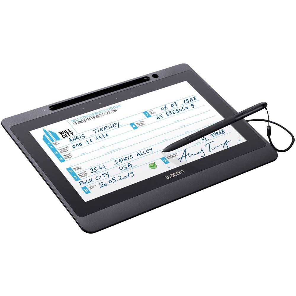 Wacom Signature Set DTU-1141B & sign pro PDF USB digitální podpisová podložka černá