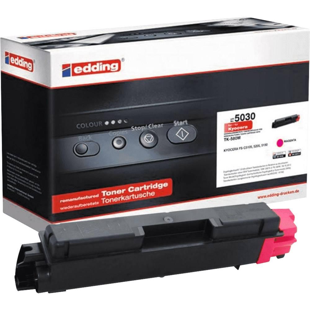 Edding toner náhradní Kyocera TK-580M kompatibilní purppurová 2800 Seiten EDD-5030