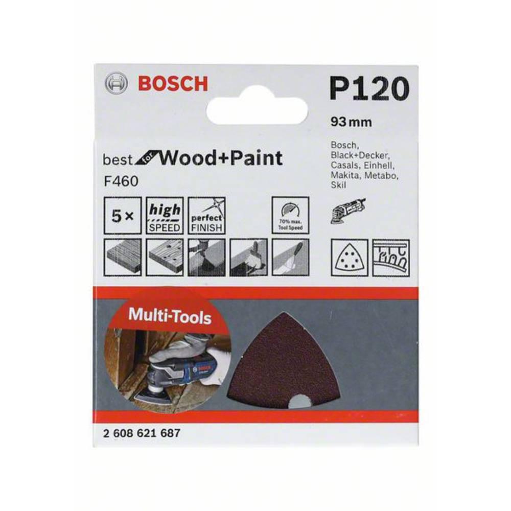 Bosch Accessories 2608621688 brusný papír pro delta brusky Zrnitost 180 (d x š) 93 mm x 93 mm 1 ks