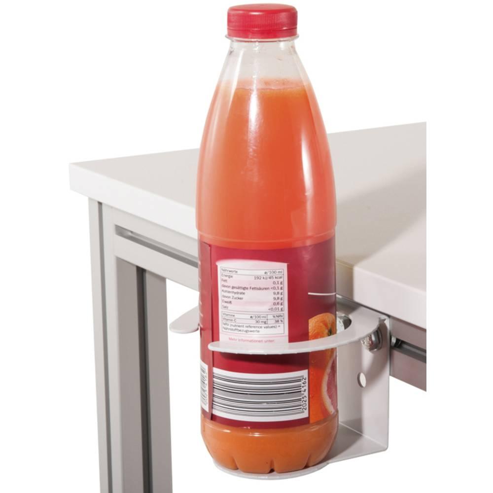Manuflex ZB8380.7035 Otvírák na lahve a na nápoje pro stroje a pracovní stůl použití , provedení pro pracovní stůl HLINÍK