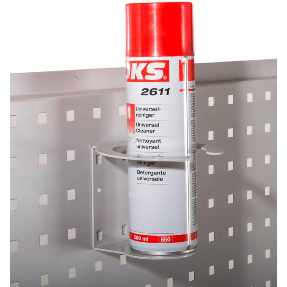 Manuflex ZB4788.7035 Otvírák na lahve a držák na straně krytky panelů a perforovanými destičkami/Vsazená plechová mřížka