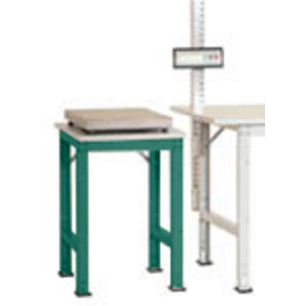 Manuflex AS0061.0001 Servírovací stolek PACK BAZÉNU s plastové desky, š x h = 500 x 600 x 760-870 mm