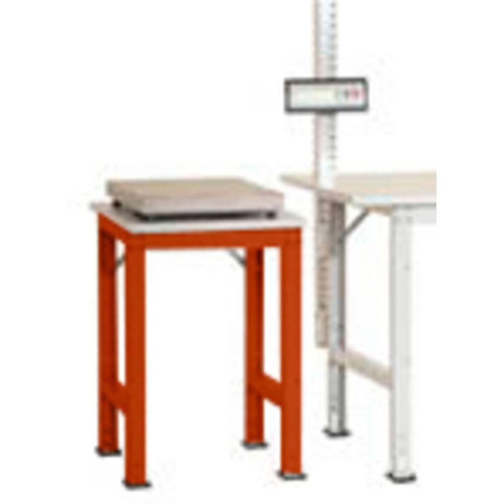 Manuflex AS0061.2001 Servírovací stolek PACK BAZÉNU s plastové desky, š x h = 500 x 600 x 760-870 mm
