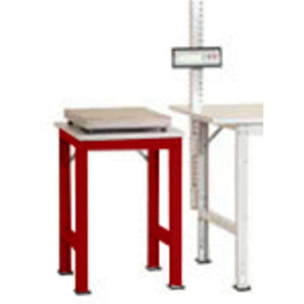 Manuflex AS0061.3003 Servírovací stolek PACK BAZÉNU s plastové desky, š x h = 500 x 600 x 760-870 mm