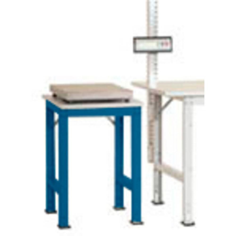 Manuflex AS0061.5007 Servírovací stolek PACK BAZÉNU s plastové desky, š x h = 500 x 600 x 760-870 mm