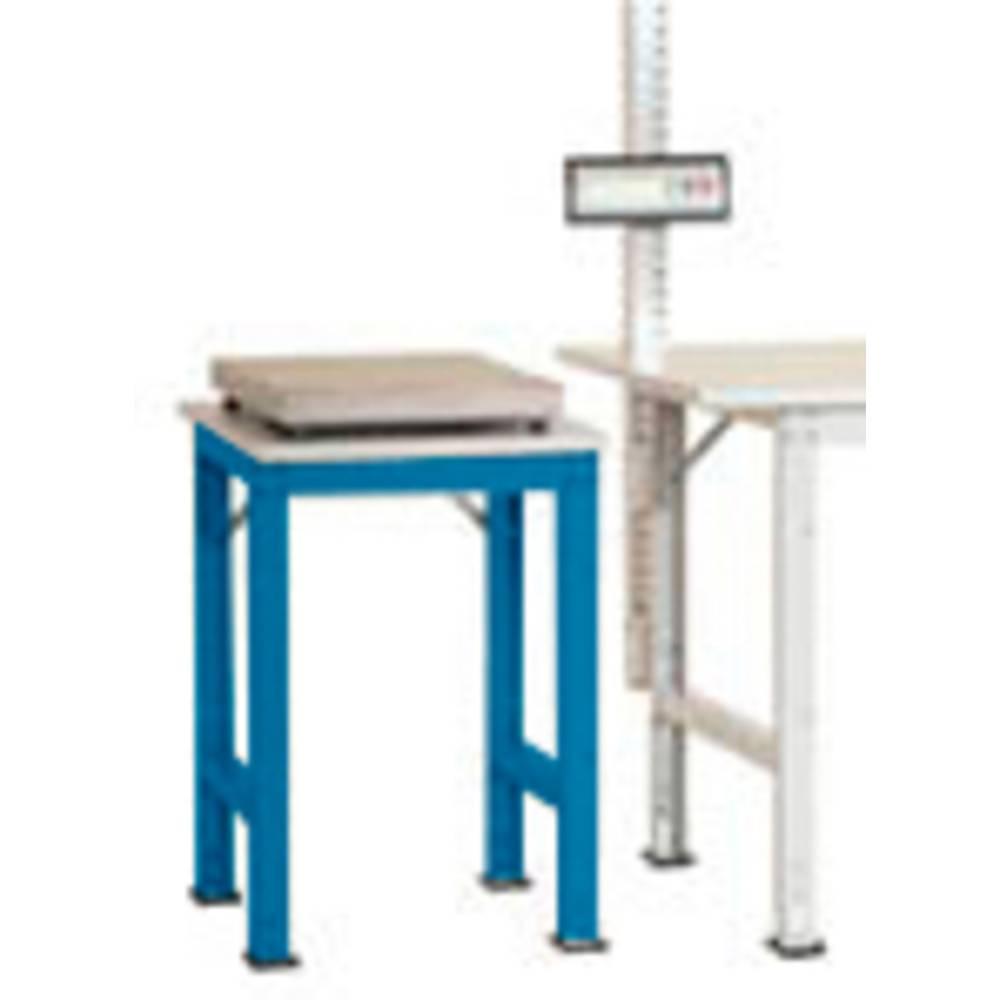 Manuflex AS0061.5012 Servírovací stolek PACK BAZÉNU speciální s plastové desky, š x h = 500 x 600 x 722-1022 mm