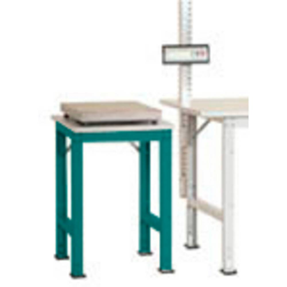 Manuflex AS0061.5021 Servírovací stolek PACK BAZÉNU speciální s plastové desky, š x h = 500 x 600 x 722-1022 mm