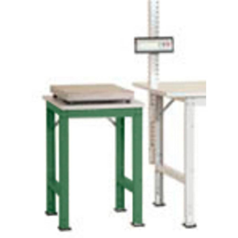Manuflex AS0061.6011 Servírovací stolek PACK BAZÉNU speciální s plastové desky, š x h = 500 x 600 x 722-1022 mm