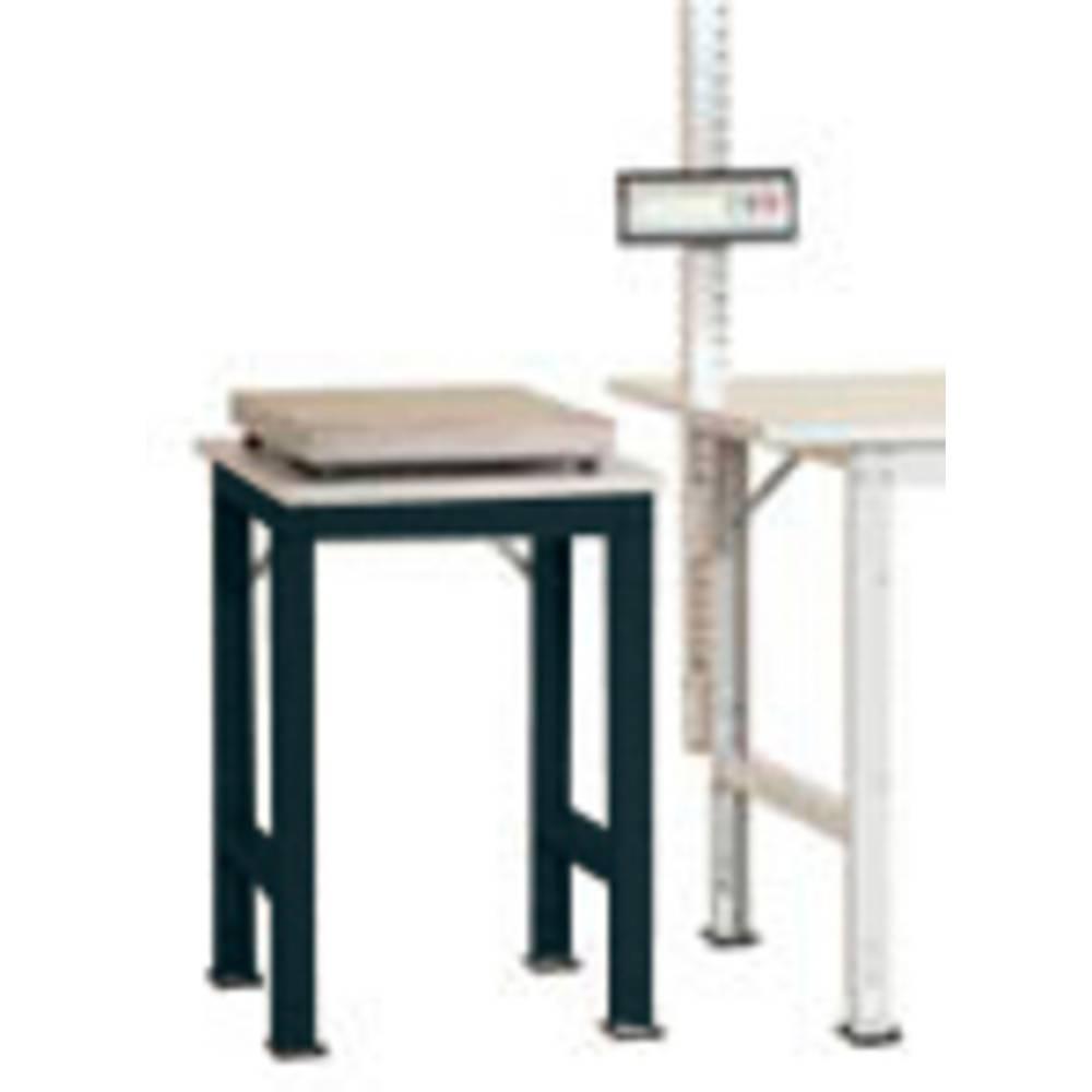 Manuflex AS0061.7016 Servírovací stolek PACK BAZÉNU speciální s plastové desky, š x h = 500 x 600 x 722-1022 mm