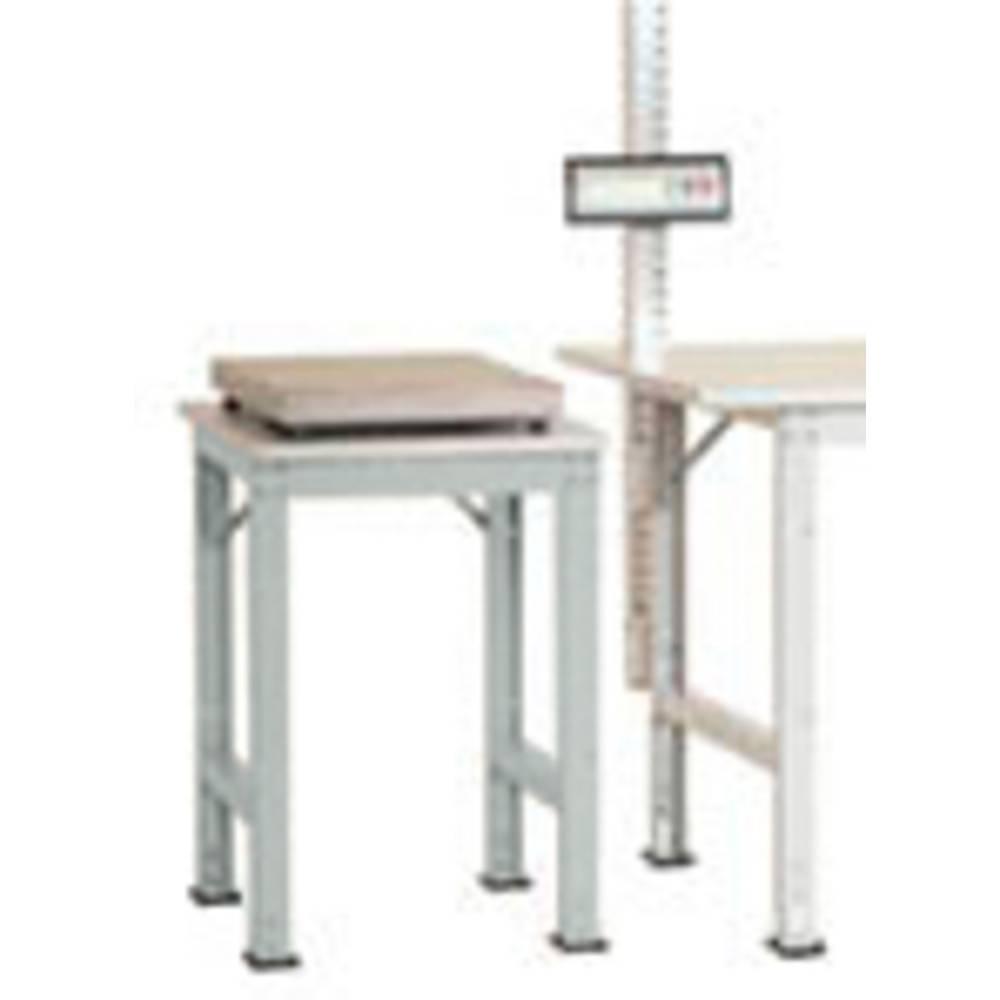 Manuflex AS0061.7035 Servírovací stolek PACK BAZÉNU speciální s plastové desky, š x h = 500 x 600 x 722-1022 mm