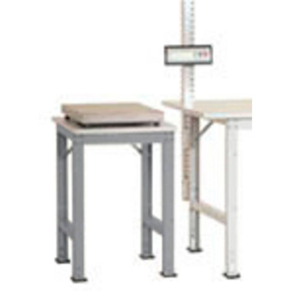 Manuflex AS0061.9006 Servírovací stolek PACK BAZÉNU speciální s plastové desky, š x h = 500 x 600 x 722-1022 mm