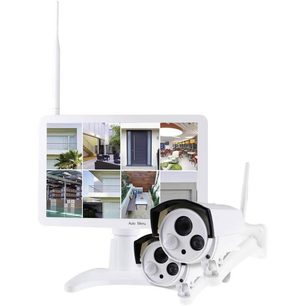 Smart Vision VF-KIT-1TB Wi-Fi IP-sada bezpečnostní kamery 8kanálový se 2 kamerami 1280 x 720 Pixel