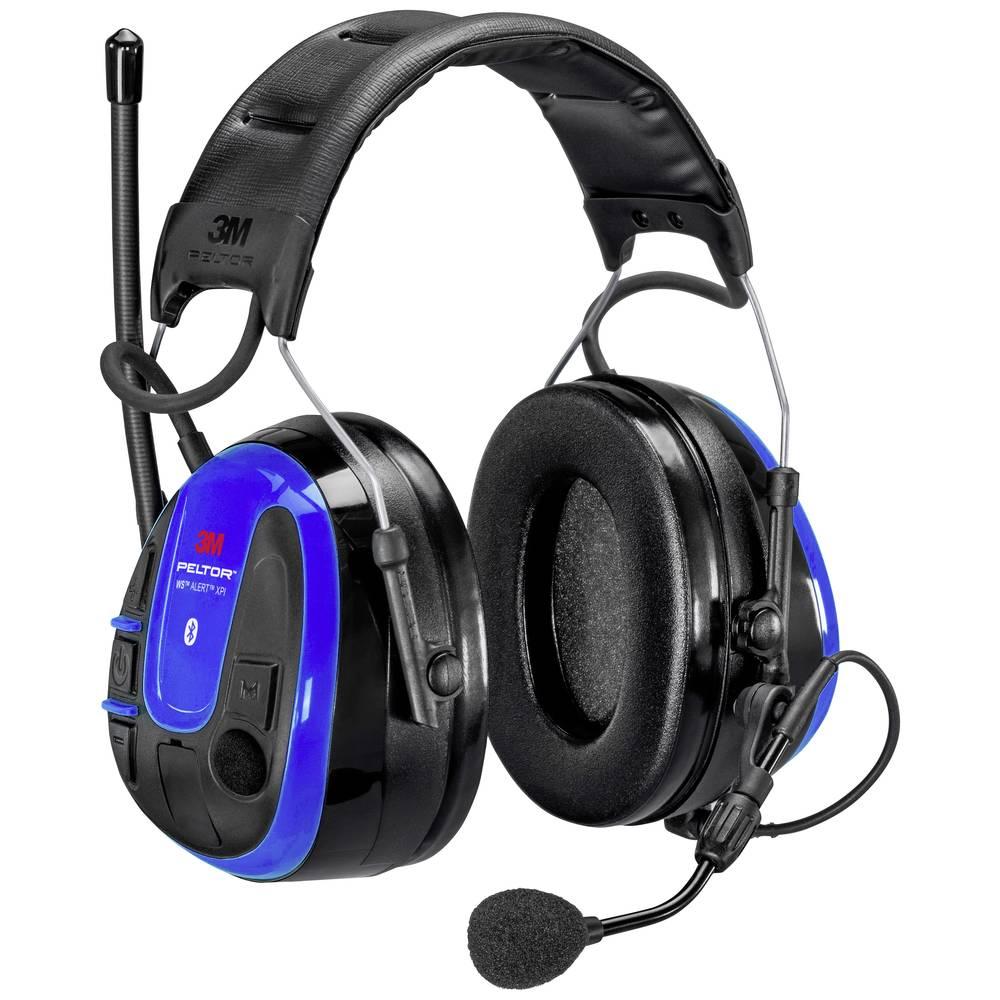 3M Peltor WS ALERT XPI MRX21A3WS6-ACK Headset s mušlovými chrániči sluchu 35 dB 1 ks