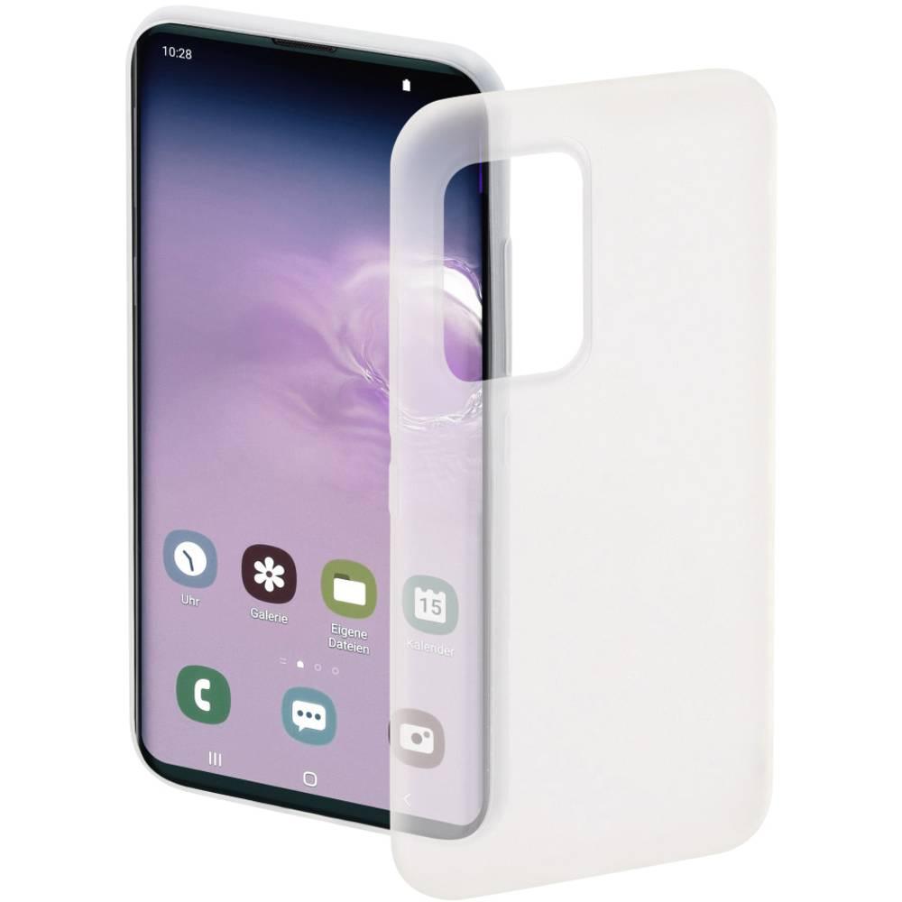 Hama Ultra Slim Flexible Cover Samsung Galaxy S20+ bílá (transparentní)