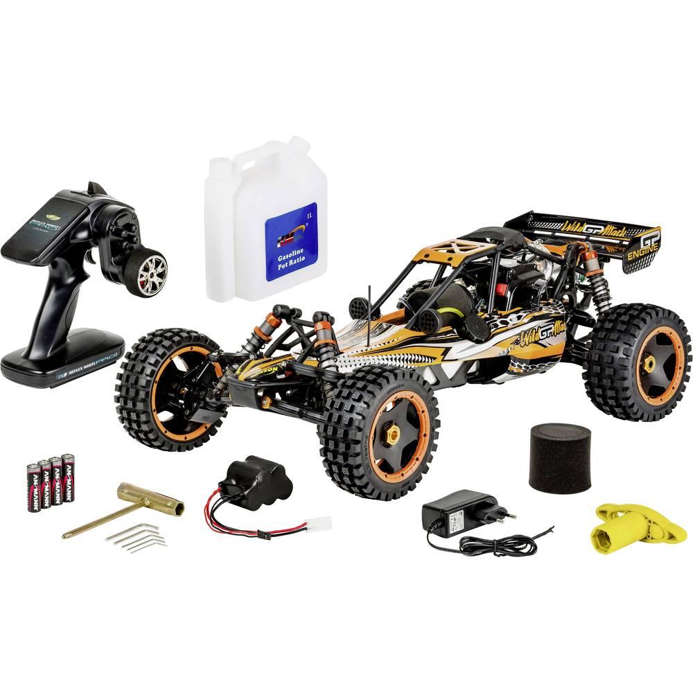 Carson Modellsport Wild GP Attack 1:5 RC model auta benzínový Buggy zadní 2WD (4x2) RtR 2,4 GHz