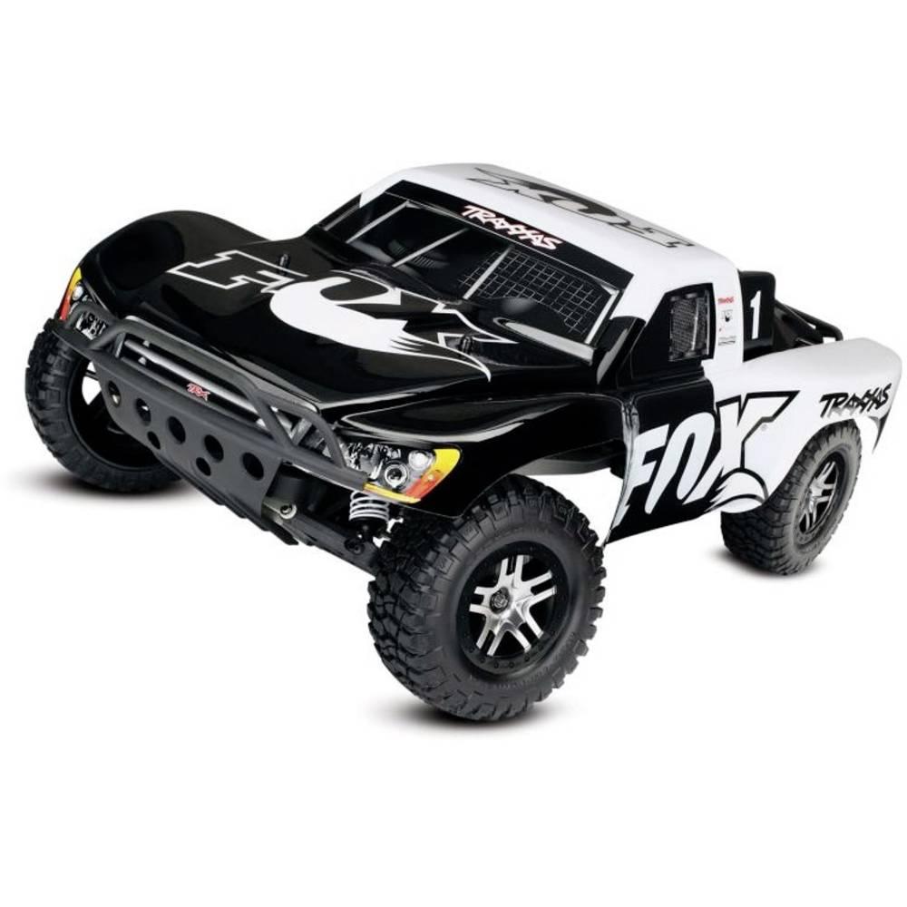 Traxxas Slash VXL Fox černá, bílá střídavý (Brushless) 1:10 RC model auta elektrický závodní RC model auta Short Course zadní 2WD (4x2) RtR 2,4 GHz