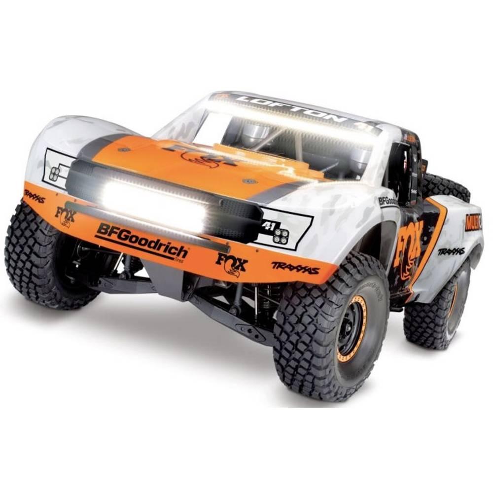 Traxxas Unlimited Desert VXL Fox bílá, oranžová střídavý (Brushless) RC model auta elektrický závodní RC model auta Short Course 4WD (4x4) RtR 2,4 GHz