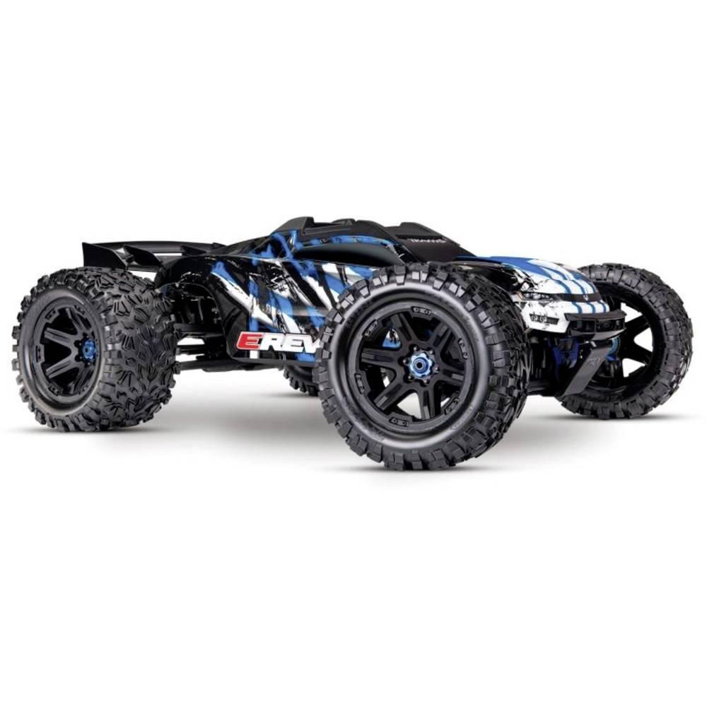Traxxas E-Revo BL 2.0 4x4 VXL modrá střídavý (Brushless) 1:10 RC model auta elektrický monster truck 4WD (4x4) RtR 2,4 GHz