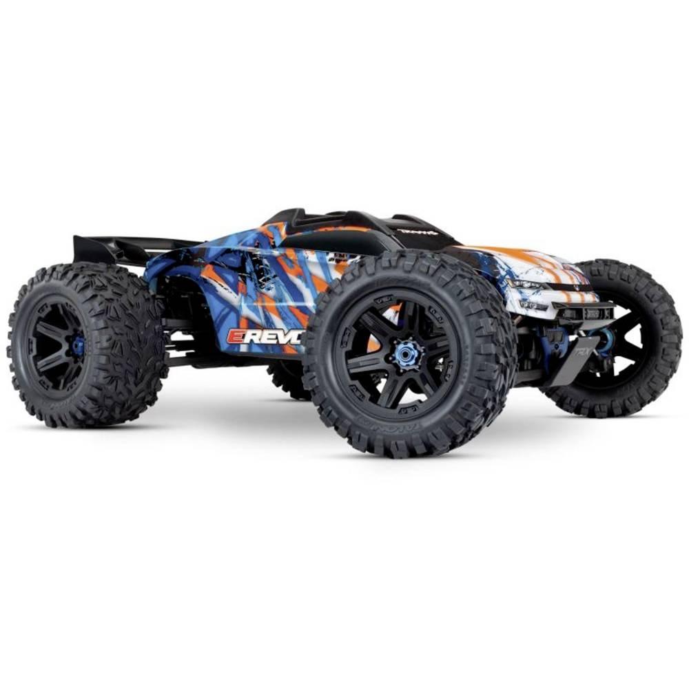 Traxxas E-Revo BL 2.0 4x4 VXL oranžová střídavý (Brushless) 1:10 RC model auta elektrický monster truck 4WD (4x4) RtR 2,4 GHz