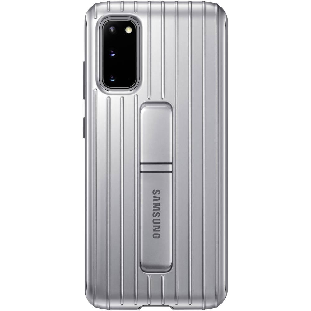 Samsung Protective Standing Cover Cover Samsung Galaxy S20 stříbrná