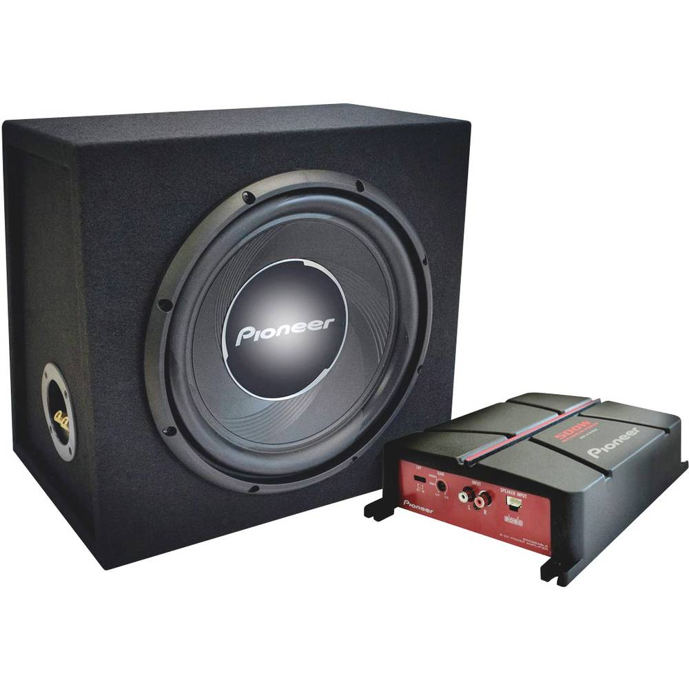 Pioneer GXT-3730B-Set basový reproduktor do auta 30 cm 1400 W 4 Ω