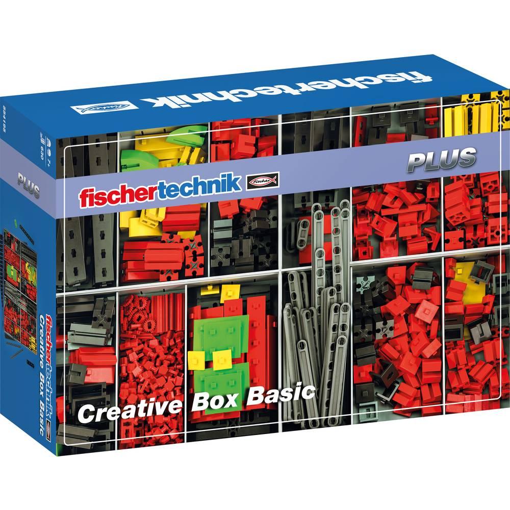 fischertechnik 554195 Creative Box Basic stavebnice, experimentální, mechanika, Občanská nauka experimentální sada od 7 let