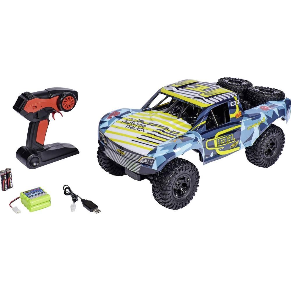 Carson Modellsport Amphi Pow.Truck žlutá komutátorový 1:10 RC model auta elektrický závodní RC model auta Short Course 4WD (4x4) RtR 2,4 GHz