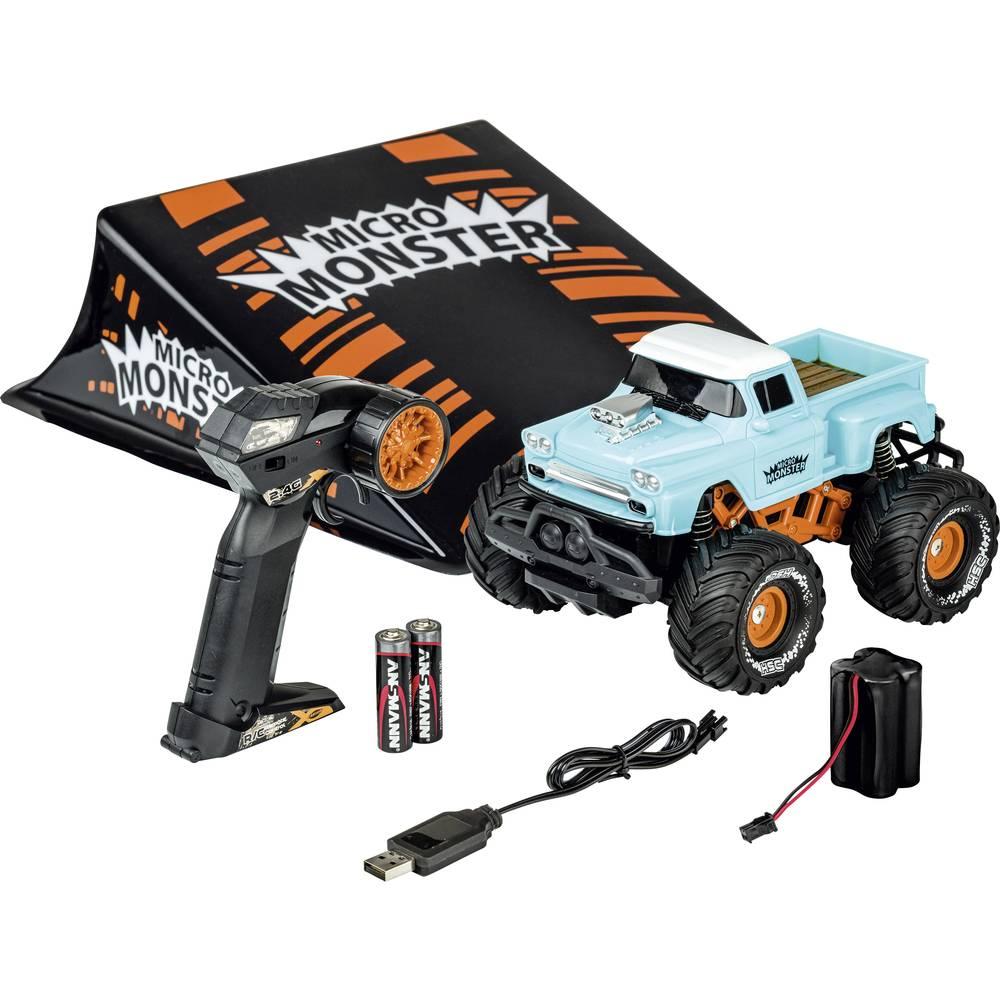 Carson Modellsport Micro Monster komutátorový 1:22 RC model auta elektrický monster truck RtR 2,4 GHz