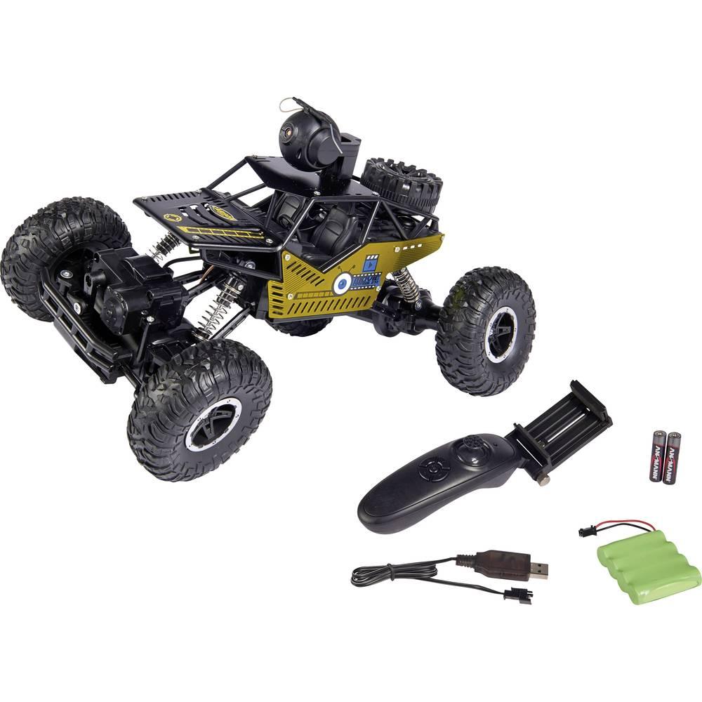 Carson Modellsport Movie App Crawlee komutátorový 1:14 RC model auta elektrický Crawler RtR 2,4 GHz