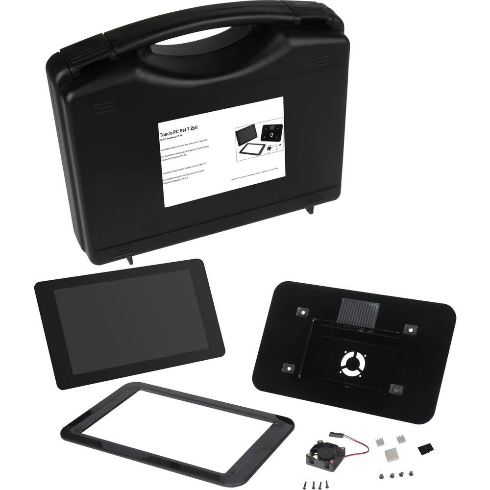 Joy-it Tablet PC Kit vč. pouzdra, vč. napájecího zdroje, vč. displeje, vč. Noobs OS, vč. chladicího tělesa