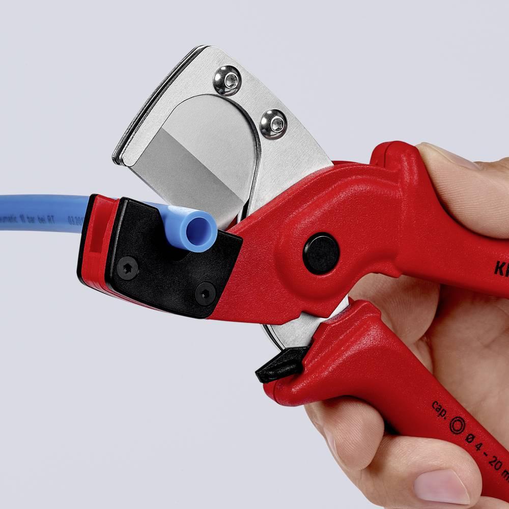 Knipex KNIPEX 90 10 185 řezačka pro vícevrstvá a pneumatické hadice z tvrdého plastu vyztuženého skelnými vlákny 185 mm 90 10 185