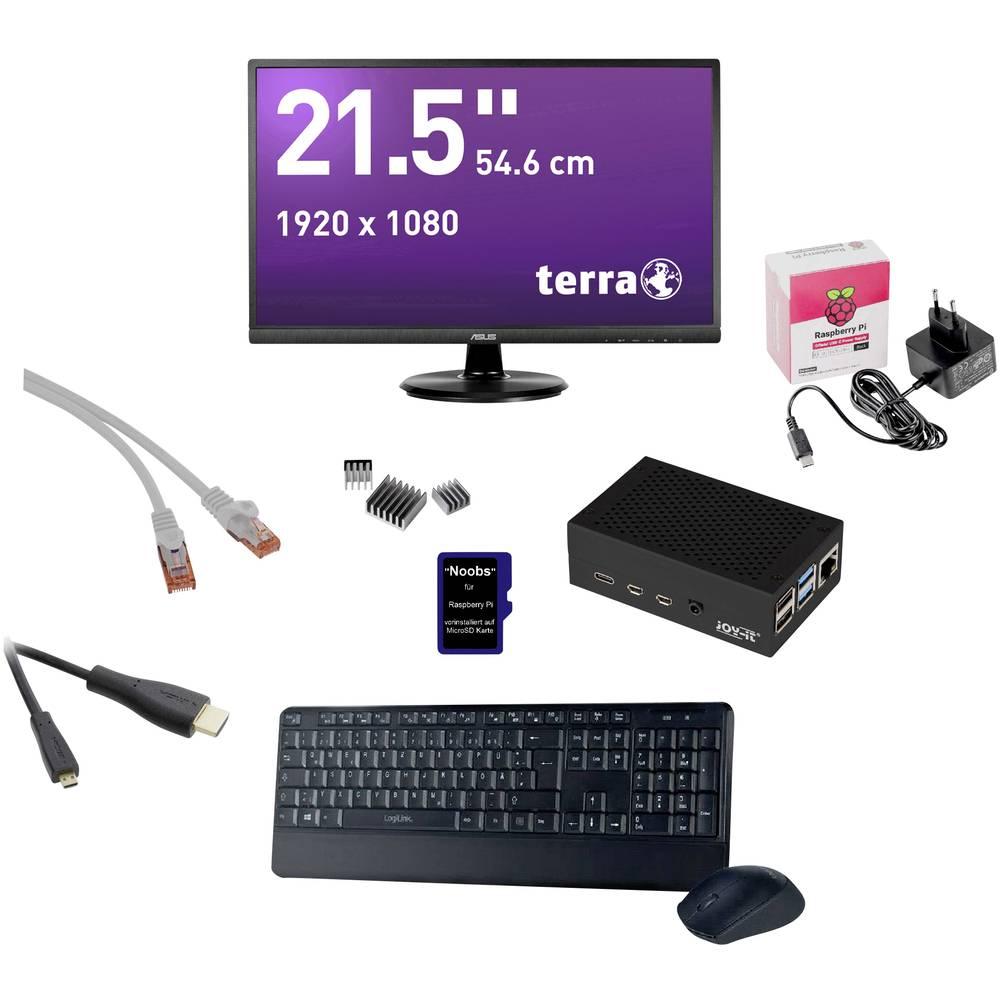 Renkforce 54.6 cm (21.5 palec) All in One PC ARM Cortex™ A-72 4 GB 32 GB Noobs černá