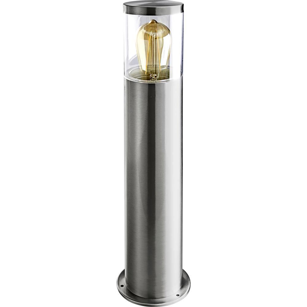 Heitronic 500682 NAXOS venkovní stojací osvětlení LED E27 nerezová ocel