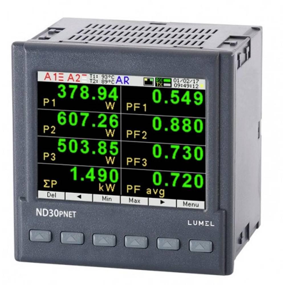 Lumel digitální panelový měřič Měřič energie