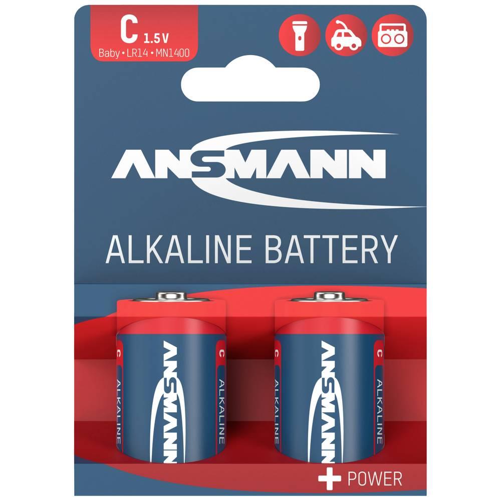 Ansmann LR14 Red-Line baterie malé mono C alkalicko-manganová 1.5 V 2 ks