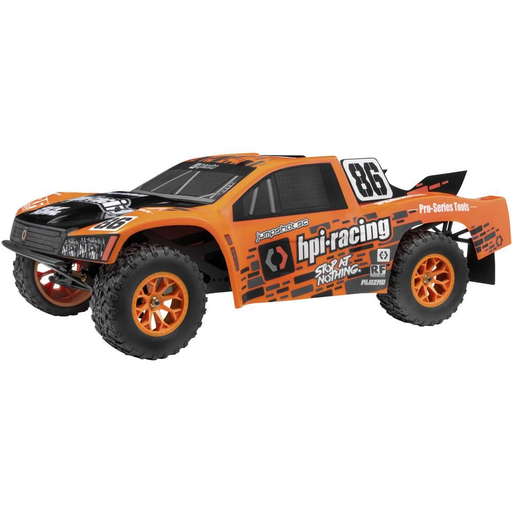 HPI Racing Jumpshot SC V2 oranžová, černá střídavý (Brushless) 1:10 RC model auta elektrický závodní RC model auta Short Course zadní 2WD (4x2) RtR 2,4 GHz