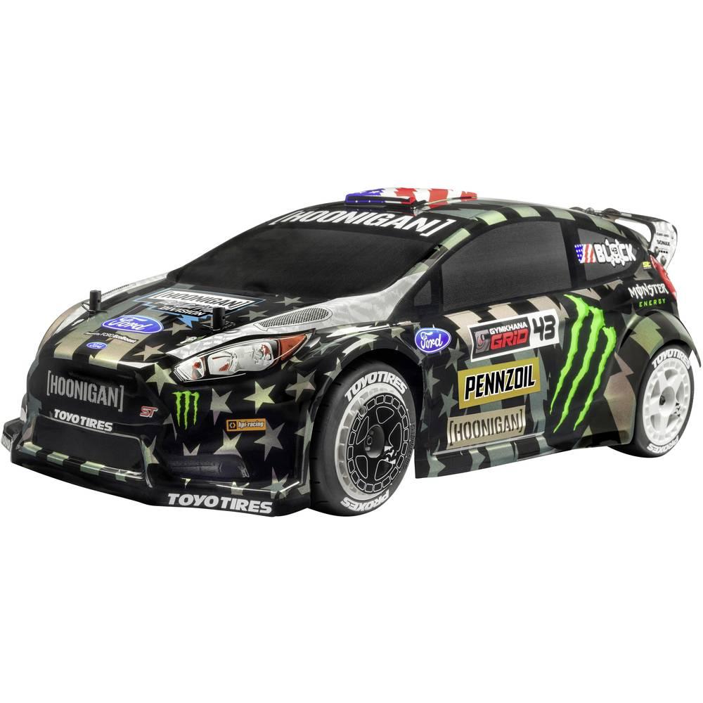 HPI Racing WR8 Flux Ken Block Ford Fiesta střídavý (Brushless) 1:8 RC model auta elektrický silniční model 4WD (4x4) RtR 2,4 GHz