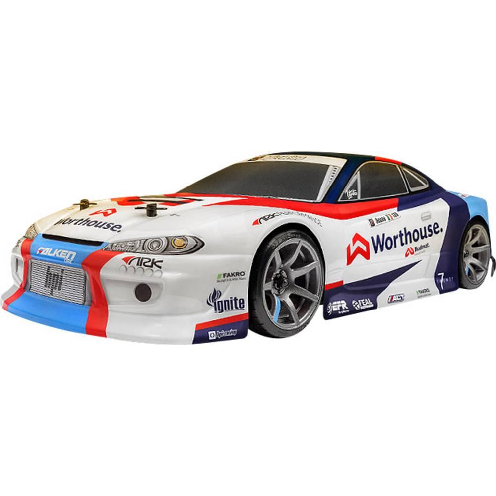HPI Racing RS4 Sport 3 Drift James Deane Nissan S15 komutátorový 1:10 RC model auta elektrický silniční model 4WD (4x4) RtR 2,4 GHz
