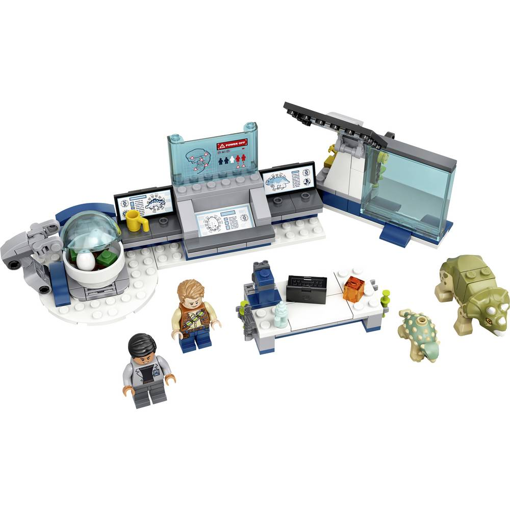 75939 LEGO® JURASSIC WORLD™ DR. Wus laboratoř: Ohnisko baby-dinosauři