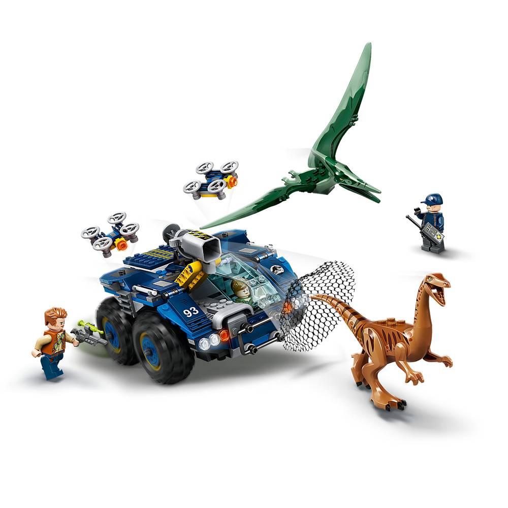 75940 LEGO® JURASSIC WORLD™ Ohnisko gallimimu a pekanodonu